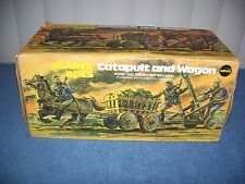 Vintage Planet of the Apes Catapult & Wagon by Mego