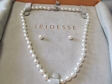 Tiffany & Co. Iridesse Oval Cultured Freshwater Pearl Necklace & Earrings