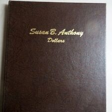 1979-99  S. B. ANTHONY DOLLARS, 2-Page ALBUM w/ PROOFS from DANSCO, NO COINS #C