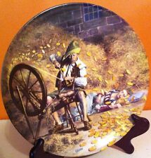 "Vintage 1981 Grimms Fairy Tale German Collector Plate ""Rumpelstilzchen"" German"