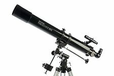 Celestron Astronomical Refractor Telescope 80 mm Equatorial Mount w Tripod