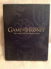GAME OF THRONES THE COMPLETE SECOND (2nd, 2, Two) SEASON (BLU RAY & DVDs) W20