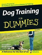 Dog Training For Dummies  paperback book FREE SHIPPING dummys a the an puppy