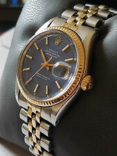 VINTAGE Rolex Datejust in acciaio gold mod 1601