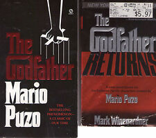 Complete Set Series - Lot of 7 Mafia books by Mario Puzo (Godfather Series)