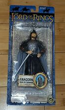 Lord Of The Rings ARAGORN KING Action Figure LOTR Return Of The King Free Ship