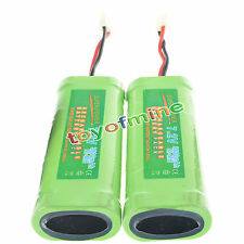 2 pcs 7.2V 3800mAh Ni-Mh rechargeable battery pack RC
