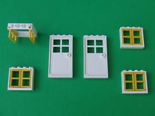 New Lego City Friends Belville Town House Doors and Windows Parts Pieces Lot Set