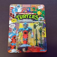 1992 TMNT TMHT Ninja Turtles MERDUDE MOC UNPUNCHED Free ZoloWorld Case MERMAID