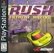 PlayStation PS1 San Francisco Rush (Game Disc Only) Free Shipping