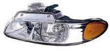 96 97 98 99 00 Town & Country Headlight Left Driver NEW 2 Headlamp Bulbs