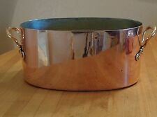 Antique Copper Large Roaster -Benham and Froud 1850 - 1899 - dovetailed