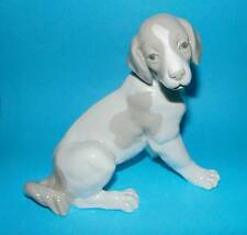 Nao by Lladro Figurine 'Sitting Dog'  ornament 1st Quality  (MD23)