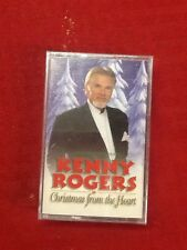 Kenny Rogers:  Christmas from the Heart  (Cassette, 2000, Dream Catcher) NEW