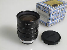 CINE NIKKOR LENS 10mm 1.8 C Mount M25 boxed Nikon S16/Blackmagic PCC