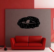 Wall Stickers Vinyl Decal Saturn Planet Universe Space for Kids Room (ig914)