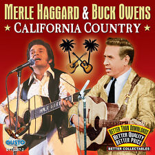 California Country - Merle & Buck Owens Haggard (2012, CD NIEUW)