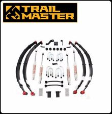 Trail Master 4 Inch Lift Kit w/ Shocks for 87-95 YJ Wrangler w/ Power Steering