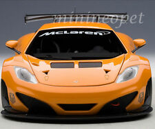 1/18 Autoart MP4-12C GT3 Presentation Car Metallic Orange+kostenlose1/18 Vitrine