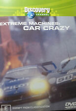 CAR CRAZY DVD EXTREME MACHINES CAR CRAZY FREE POST IN AUSTRALIA