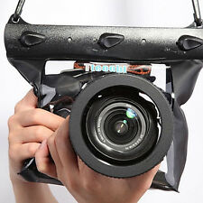 Underwater Case Waterproof DSLR SLR Camera Bag Housing Case Cover Pouch Dry Bag