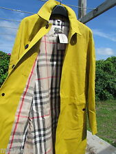 NEW BURBERRY 40/50 trench coat nova check lining England $1795 Oakham London mac