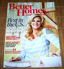 Better Homes and Gardens Magazine July 2013 Trisha Yearwood Recipes 4th of July