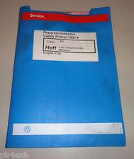 Werkstatthandbuch VW Caddy Pickup 4 Zyl. Einspritzmotor / Mechanik Stand 07/1996
