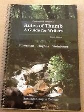Rules of Thumb 8th Edition Customized for Santiago Canyon College by Silverman