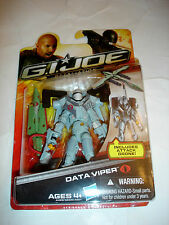 Hasbro GI Joe Retaliation Cobra Data Viper Action Figure MIP NEW Movie 2012