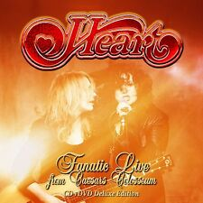 HEART - Fanatic Live from Caesars Colosseum DVD+CD