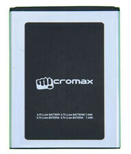 100% Genuine Replacement Original Battery For Micromax Canvas 2 A110 2200mAh