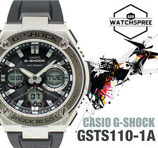 Casio G-Shock G-Steel Layered Guard Structure Watch GSTS110-1A GST-S110-1A