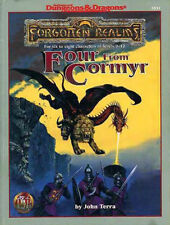 AD&D - FOUR FROM CORMYR TSR 9531 Forgotten Realms  adventure