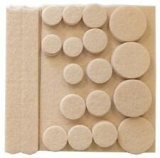 27 PC ANTI SKID FURNITURE PADS PROTECTOR FEET RUBBER ROUND FELT CHAIR