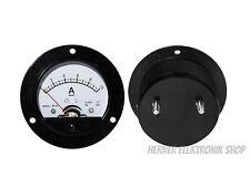 0 - 10 a DC analogico installazione contatore, rotondo Amperometro Misuratore -.