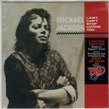 "MICHAEL JACKSON I JUST CAN'T STOP LOVING YOU VINILE 7"" NUOVO E SIGILLATO !!"