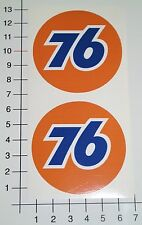 76 GASOLINE 2 Stück SET Aufkleber Sticker Hot Rods US CARS Fast & Loud V8 Mi343