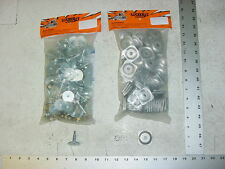 84 WOODYS Grand Master Stud 1.325 Studs Square Alum Backer Snowmobile Track