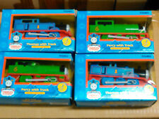 2 Thomas the Tank Engine Battery Engines and 2 Percy Battery Engines
