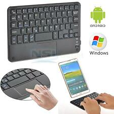 New 81 Keys Slim Wireless Bluetooth Keyboard w/ Touchpad for Android Windows