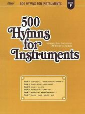 500 Hymns for Instruments Bk. F : Book F, Chords, Drums, Melody, Bass by...