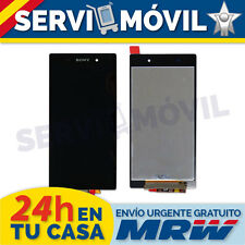 Pantalla para Sony Xperia Z1 L39h Lcd + Tactil Negra Display Screen Ecran Negro