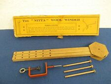 "Wool Winder The ""Nitta"" Vintage Retro Item Collectors Piece"