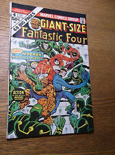 MARVEL: GIANT-SIZE FANTASTIC FOUR #4, 1ST MADDOX, KEY BOOK, 1974, VF/NM (9.0)!!!
