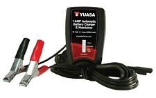 Yuasa AUTOMATIC 1 AMP BATTERY CHARGER Reaches 14.4 volt peak then switches