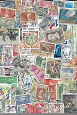 SUPERBE LOT DE 2000 TIMBRES DE FRANCE TOUS DIFFERENTS TRES FORTE COTE