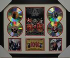 ACDC AC/DC SIGNED MEMORABILIA FRAMED 4 CD LIMITED EDITION