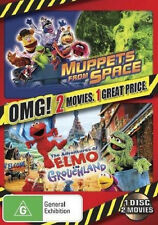 Muppets From Space / The Adventures of Elmo in Grouchland NEW DVD