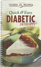 DIABETIC DESSERTS Cookbook NEW Recipes TREATS Sweets COOKIES Cakes PIES Brownies